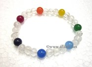 Picture of Chakra Crystal Beads 3x1 bracelet