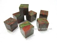 Picture of Unakite Cubes