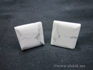 Picture of Howalite Square Cufflinks