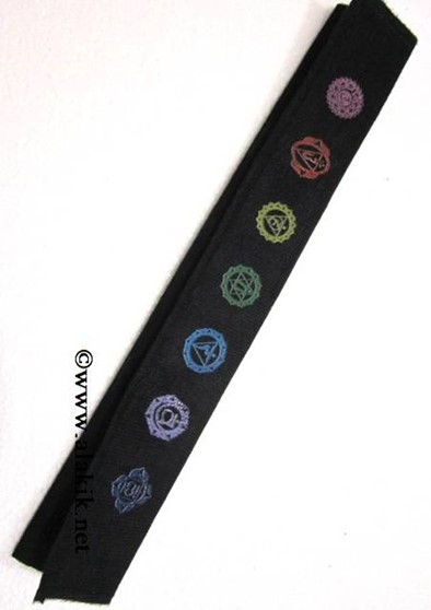 Picture of Chakra Colourful Velvet Purse