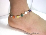 Picture of Chakra Beaded Anklet