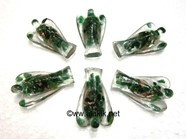 Picture of Green Jade 2inch Orgonite Angels