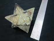 Picture of Crystal Quartz Orgone Big Size Merkaba Star