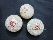 Picture of Crystal Quartz Orgone Balls