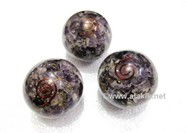 Picture of Amethyst orgone Balls