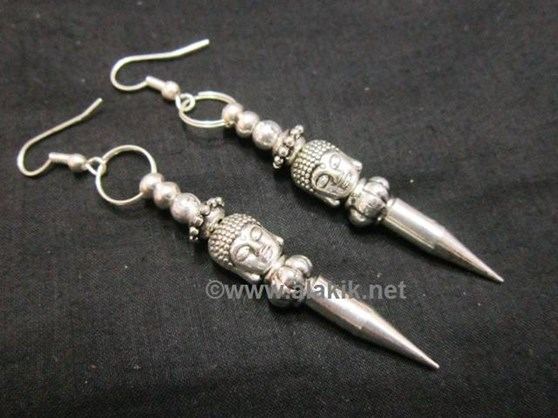 Picture of Meta Buddha bullet Point Earring