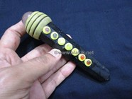 Picture of Black Tourmaline Tibetan Chakra Massage Wand