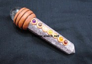 Picture of Lepidolite Tibetan Chakra Massage Wand