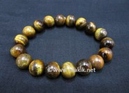 Picture of Yellow Tiger Eye 10mm Elastic Bracelet
