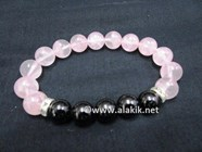 Picture of Rose Quartz Tourmaline 10mm Bracelet