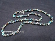 Picture of Chrysocolla Chips Necklace
