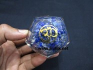 Picture of Lapis Lazule Orgone Dodecahedron with OM