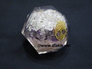 Picture of Rose Crystal Amethyst Combination Orgone Dodecahedron