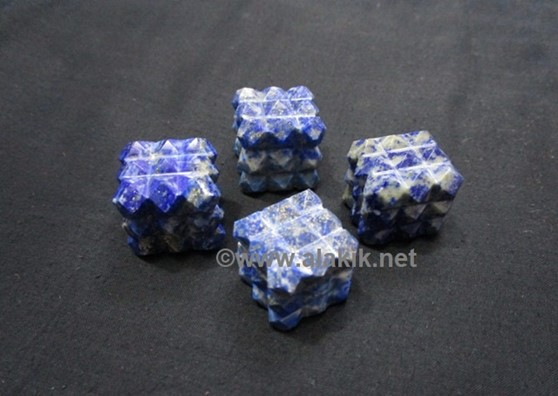 Picture of Lapis Lazule 54 Pyramid Cube