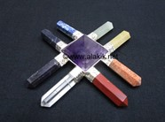 Picture of 8 Chakra New Age Generator with Amethyst Pyramid