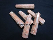 Picture of Orange Moonstone Obelisks