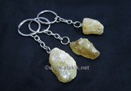 Picture of Citrine Chunks Keyrings
