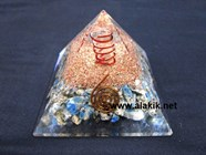 Picture of K2 Raindrop Azzurite Orgone Pyramid